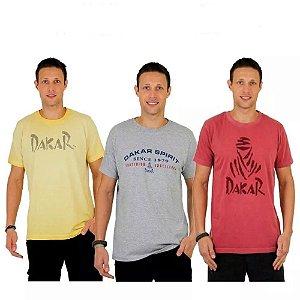 Kit 5 Camisetas Dakar Sortidas
