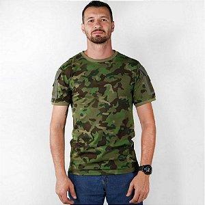 Kit Com 3 Camisetas Masculina Ranger Camuflada Bélica