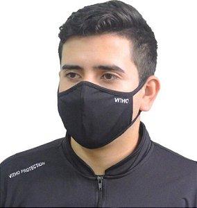 Máscara Unissex Anatômica Permanente Vitho Dupla Face
