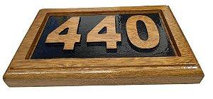 Número para Residência Personalizado