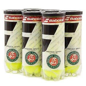 Bola de Tênis Babolat Roland Garros All Court Pack com 06 Tubos
