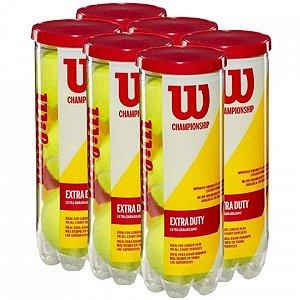 Bola de Tênis Wilson Championship Pack com 6 Tubos