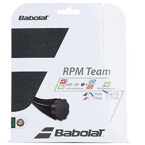 CORDA BABOLAT RPM TEAM 17 1.25MM PRETA - SET