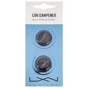 Antivibrador Luxilon Dampener Preto - Cartela com 2 Unidades