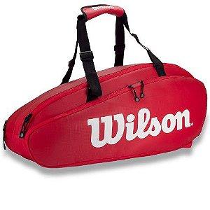 Raqueteira Wilson ESP Tour X9 Vermelha