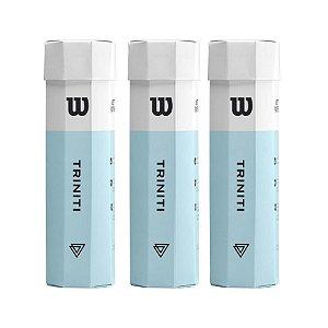 Bola de Tênis Wilson Triniti - Pack com 3 Tubos