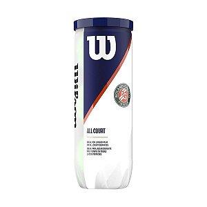 Bola de Tênis Wilson Roland Garros 2020 Pack com 3 tubos