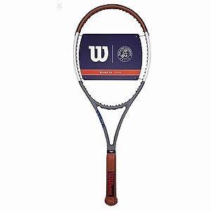 Raquete de Tênis Wilson Blade 98 16x19 V7 Roland Garros
