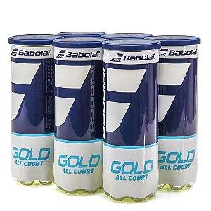 Bola de Tênis Babolat Gold All Court Pack com 6 Tubos