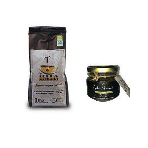 Café Terra Molhada 1kg Especial 87 pontos +Geleia  de Café Artesanal
