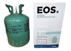 Botija Gás Refrigerante R22 13,6Kg EOS