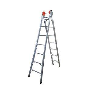 Escada Extensiva de Alumínio 6 Degraus ENE06 Ágata