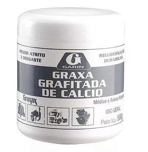 Graxa Grafitada de Cálcio Garin - 500 gramas