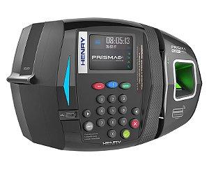 Relógio de Ponto Prisma SF ADV R1 Bio + Milfare + Proxy + Barras  (Leitor Verde)