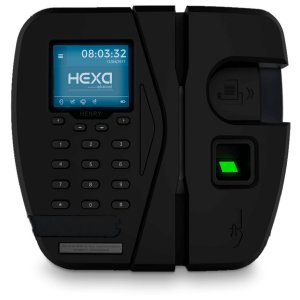 Relógio Ponto HEXA ADV Bio + Mifare (Leitor Verde)