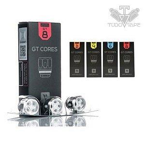Resistência Coil GT Vaporesso (GT2 /GT4 / GT6 /GT8 / GT CCell2 / GT Mesh)