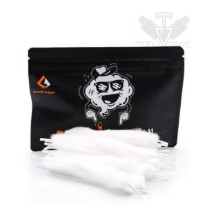 Algodão Feather Cotton 20pcs pré-load 3mm - Geek Vape
