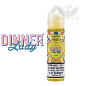 Dinner Lady sabor Lemon Tart - 0mg / 3mg