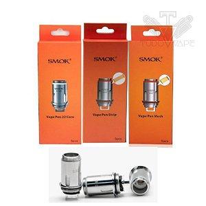 Resistência Coil Pen 22 Smok - Core / Mesh / Strip