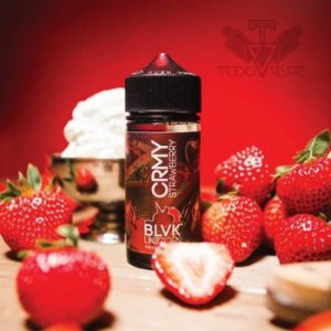 Creamy Strawberry - BLVK 100ml