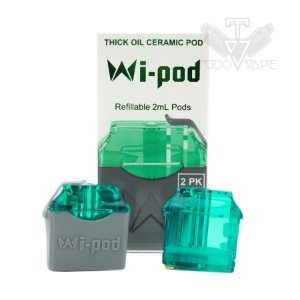 Wi Pod refil ceramic oil 1.2ml - Mi-pod/ wi-pod / wi-pod x - Smoking Vapor