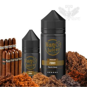 Nanos Juices 60ml - Tabaco 3mg / 6mg / 9mg