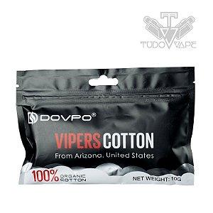 Dovpo vipers cotton 10g algodão orgânico