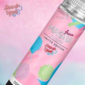 Magna Cotton Candy Zona do vapor - Edição Limitada