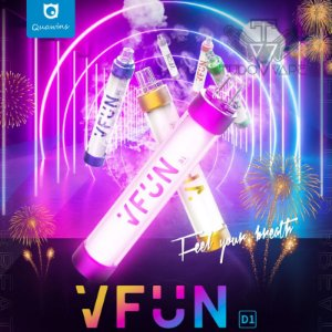 VFUN POD LED - DESCARTAVEL 1000 PUFF 50MG - UND
