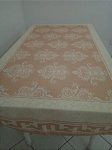 Toalha de Mesa Leda (estampa Persa) - Linho
