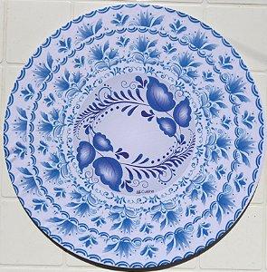Capa de Sousplat em tecido poliéster  Sublimado - Azulejo Português (cod.10)