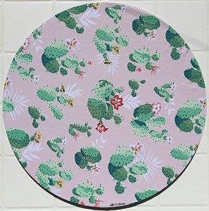 Capa de Sousplat em tecido poliéster Sublimado - Cactos (cod.035)