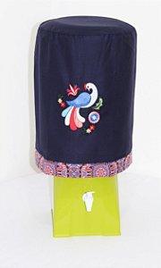 Capa de Galão de Água 20 litros - Cor: Azul Marinho - Pavão