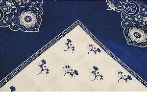 Toalha de Mesa Quadrada em Linho - Medida: 1,40 x 1,40