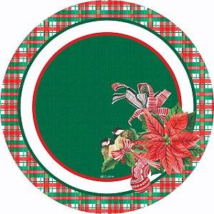 Capa de Sousplat poliéster  Sublimado  NATAL (005)