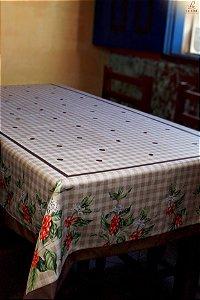Toalha estampa de café - Tecido com Impermeabilidade