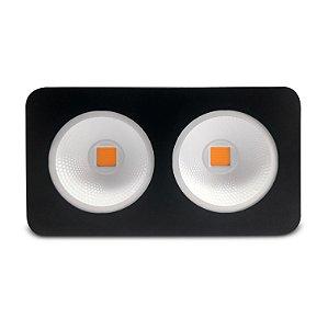 Painel Crowing Led Cob Grow Light - Full Spectrum - 90°- Refletor - 400w