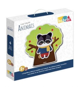 Quebra Cabeça Mix Animais
