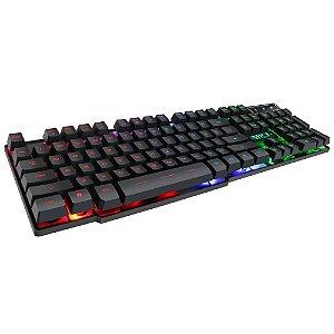 Kit Gamer Teclado com Mouse KM-680 - H´MASTON KEYBOARD