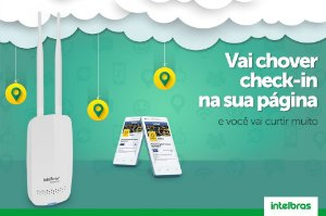 Roteador Wireless N Corporativo Hotspot 300 Intelbras