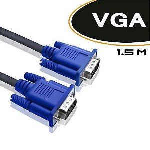 Cabo Monitor VGA MD9 Filtro 1.5m