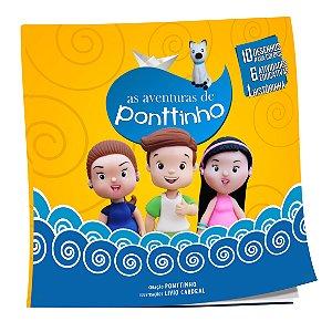 LIVRO DE COLORIR // AS AVENTURAS DE PONTTINHO