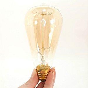 Lampada de Edson Filamento de Carbono - 127V - Elgin