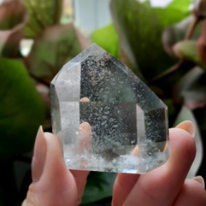 Cristal Quartzo Phantom Cristal Fantasma - Med