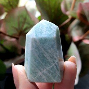 Cristal de Ponta Gerador Amazonita - Mini