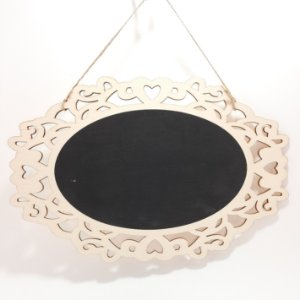 Placa Decorativa Quadro Negro em MDF