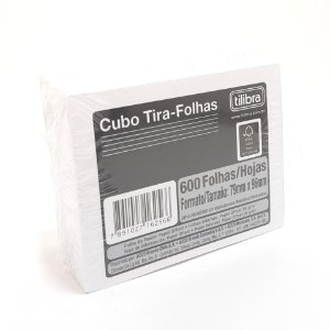 Bloco Tilembrete Branco Tilibra - 600 Folhas