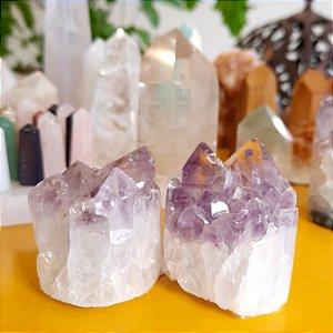 Cristal Ametista - Mini Drusa Cilíndrica