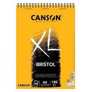 Bloco De Desenho Canson Bristol Xl 180g/m² A4 50 Folhas