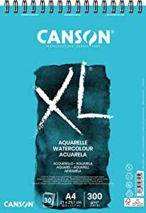 Bloco Canson Aquarela - Xl Aquarelle - 300g/m² A4